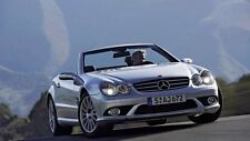 2006 Mercedes SL 55 AMG CARS5317 Art Poster Print A4 A3 A2 A1