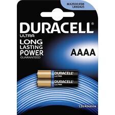 2 x Duracell AAAA 1.5V ULTRA Batteries MX2500 E96 LR8D245