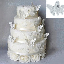 Km _ 2PCS 3D Schmetterling Kuchen Fondant Form Dekoration Sugarcraft Kekse