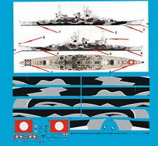 Peddinghaus 1/200 3317 navire de guerre SCHARNHORST 6.9.1943 avec Coque Couverture