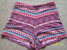 Girls NEW LOOK 915 GENERATION Aztec Shorts age 13 yeasr vgc