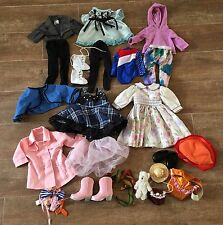 """27 pc Lot 18"""" Doll clothes dress ice skates American Girl compatible clothing"""