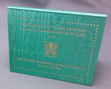 VATICAN COFFRET 2 EUROS 2013- XXVIII JOURNEE MONDIALE DE LA JEUNESSE RIO