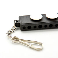 Durable Golf Tee Holder Carrier Tees Shelf with 3 Ball Markers w/ Keychain、FadGK