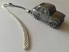 Austin A30 4 Door Saloon FULL CAR on a Pattern bookmark with cord ref6
