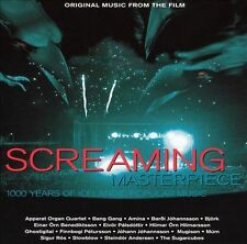 SCREAMING MASTERPIECE SOUND TRACK CD BRAND NEW SEALED