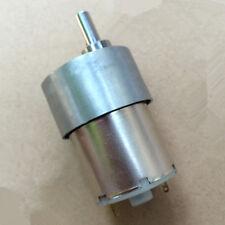 37GB DC 12V 300RPM 6mm Shaft Dia Electric Gearbox Geared Motor DIY car/robot