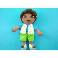 "LOVELY 8"" Dora the Explorer Go Diego Go Plush Soft Doll Toy + CHARM"