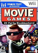 WII MISCELLANEOUS-MOVIE GAMES PRESENTED BY FAMILY FUN FEST-NLA  WII NEW