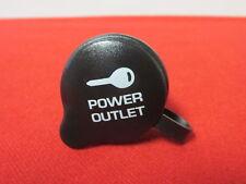 Dodge Chrysler Jeep Instrument panel power outlet bezel with cover Mopar OEM