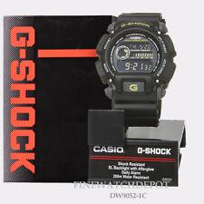 Authentic Casio G-Shock Men's Black Multi-Function Military Watch DW9052-1C