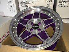 "FYK ED3 16"" 8-9j Et10 Alloy Wheels 4x114.3 EURO DRIFT BBS RS SSR XXR AE86"