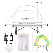 Balloon Arch Set Column Stand Base Frame Kit Birthday Wedding Party Decor CA YB