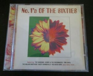 THE NUMBER 1s OF THE SIXTIES ~ Various Artists ~ CD ALBUM