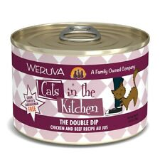 Cats in the Kitchen The Double Dip Chicken and Beef Recipe Au Jus Wet Cat Food,