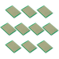 10x Lochrasterplatine Platinen Leiterplatten Streifenraster 5x7cm DE
