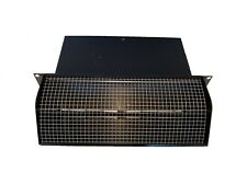 """Broan NuTone Black Wall Cap for ducting 3-1/4"""" x 10"""" 639"""