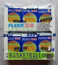 Fleer Series 1 Basketball nba Box Jumbo 1993-94
