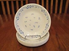 """8 Corelle Provincial Blue Floral 6 1/2"""" Bread Plates"""