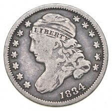1834 Capped Bust Dime - Charles Coin Collection *748