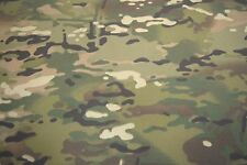 """MULTICAM NYLON FR TWILL CAMOUFLAGE FABRIC MILITARY 60""""W CAMO SOLD BTY"""
