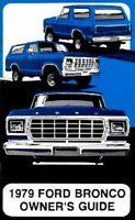 Bishko OEM Maintenance Owner's Manual Bound for Ford Truck Bronco 1979