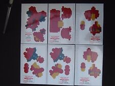 Build Your Own * Iron Man * 6 sheets + 2 instruction sheets * Marvel Comics