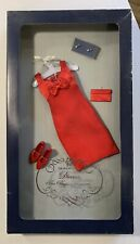 Franklin Mint - Red Dress Ensemble for Diana The Peoples Princess of Wales Doll