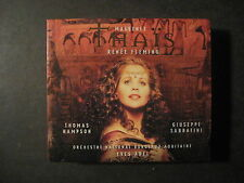 THAIS Opera by Jules Massenet 2000 booklet and 2 cd set Renee Fleming