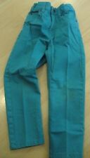 NEW Boys 4-5 Teal Blue SKINNY JEANS H&M Adjustable Waist GIRLS