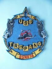 INSIGNE PATCH US NAVY USS TREPANG SSN-674 / SOUS-MARIN SUBMARINE U-BOOT U-BOAT