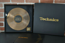 Technics SL-1200 MK6K1 35th Anniversary Gold Disc & Booklet Limited Edition