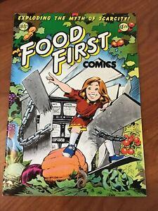 Food First Comics #1 1982 Underground VF-