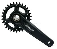 Shimano FC-MT610 170mm, Optional 30/32/34T Bike Bicycle Crankset 1x12Speed Black