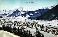 Davos im Winter, um 1910/15