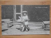 Foto Postkarte Original Prinz Wilhelm von Preußen