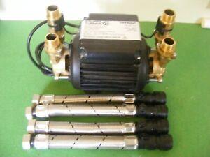 A Stuart Turner  2.0  Bar   Brass Twin Pump.