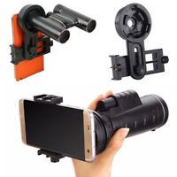 Universal Cell Phone Adapters Mount Binocular Monocular Spotting Telescope Scope