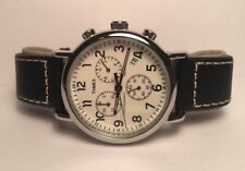 Timex Weekender Chronograph Men Watch TW2R42800 40mm Indiglo Date Light Used!