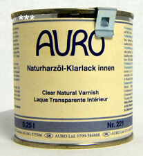 Auro Naturharzöl-Klarlack innen 250 ml Nr. 221