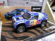 VW Volkswagen Touareg Rallye Raid 2005 #313 Kankkunen Red Bull Minichamps 1:43