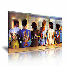 Pink Floyd Back Catalogue Music Canvas Wall Art Picture Print 60x30cm