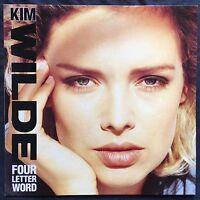 "Kim Wilde 12"" Four Letter Word - Europe (EX+/M)"