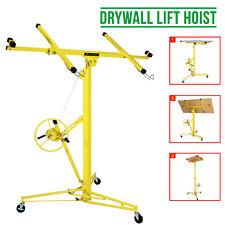 More details for heavy duty tool drywall hoist caster 16ft lift/lifter plaster board panel sheet