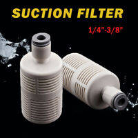 """Fish Tank Aquarium Pond Water Pump Inlet Suction Filter For 1/4"""" 3/8"""" Hose Pipe"""