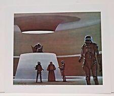 """Ralph McQuarrie Battlestar Galactica Art Print #11- Leader & Boltar 11""""x13"""""""