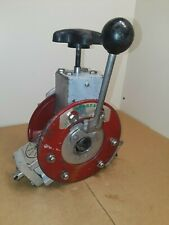 Spartan Model 75 Sewer Snake Power Feed FITS Spartan 300 Drain Machine etc.