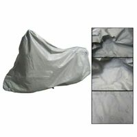 Indoor Breathable Waterproof Outdoor Motorbike Motorcycle Bike Dust Cover Large