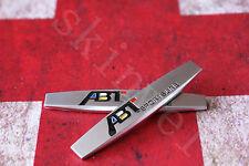 2 × Emblem Schriftzug Aufkleber Plakette Badge für ABT SPORT GOLF POLO VW A01