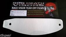 Shoei KBC Scorpion Clear Tear Offs Genuine Race Visors BULK Packet X 30